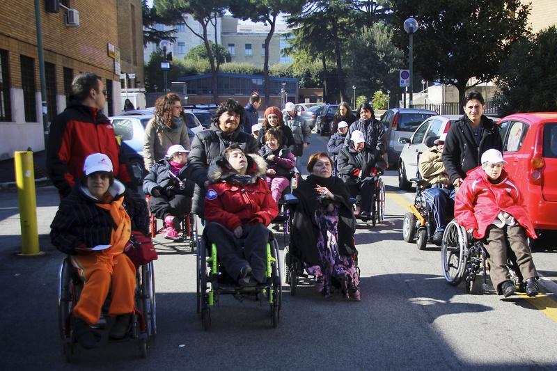 ILEANA ARGENTIN E I RAGAZZI DELL'ALM Abbattiamo Ogni Barriera Roma 19 febbraio 2013