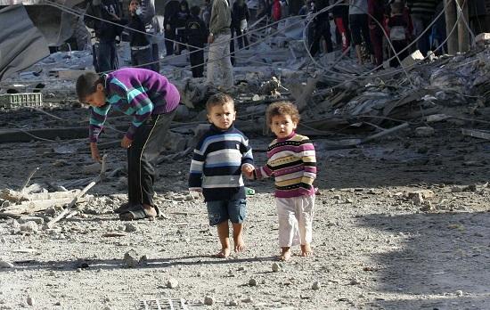 Risultati immagini per bambini  a gaza