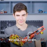 David Aguilar braccio Lego